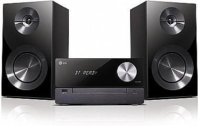 מודרניסטית מערכת סטריאו LG דגם: CM2460 | מערכות סטריאו ורדיו דיסק | צפייה ZH-98